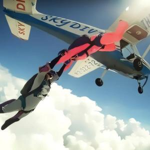 """""""Skydiving Exit"""""""