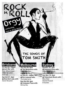 ROCK N ROLL ORGY- CELEBRATING LOVE IN ALL IT'S FORMS) at The Junk Bar