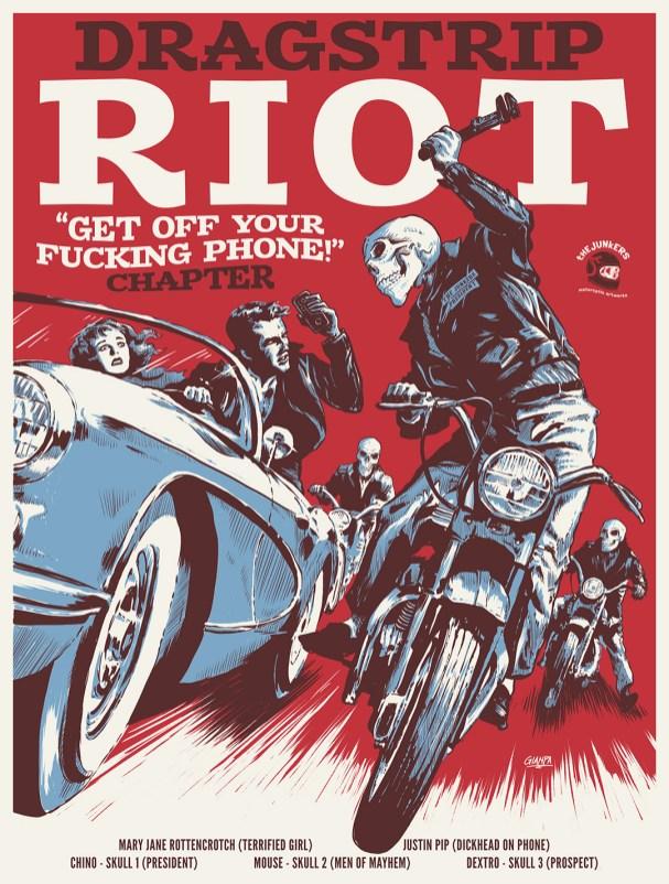 retro movie poster