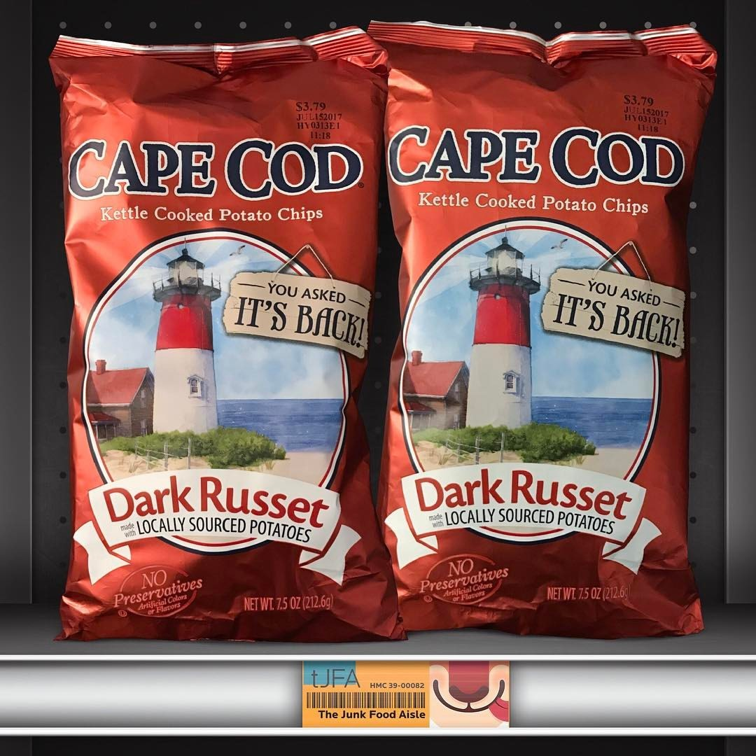 Cape Cod Dark Russet Kettle Cooked Potato Chips
