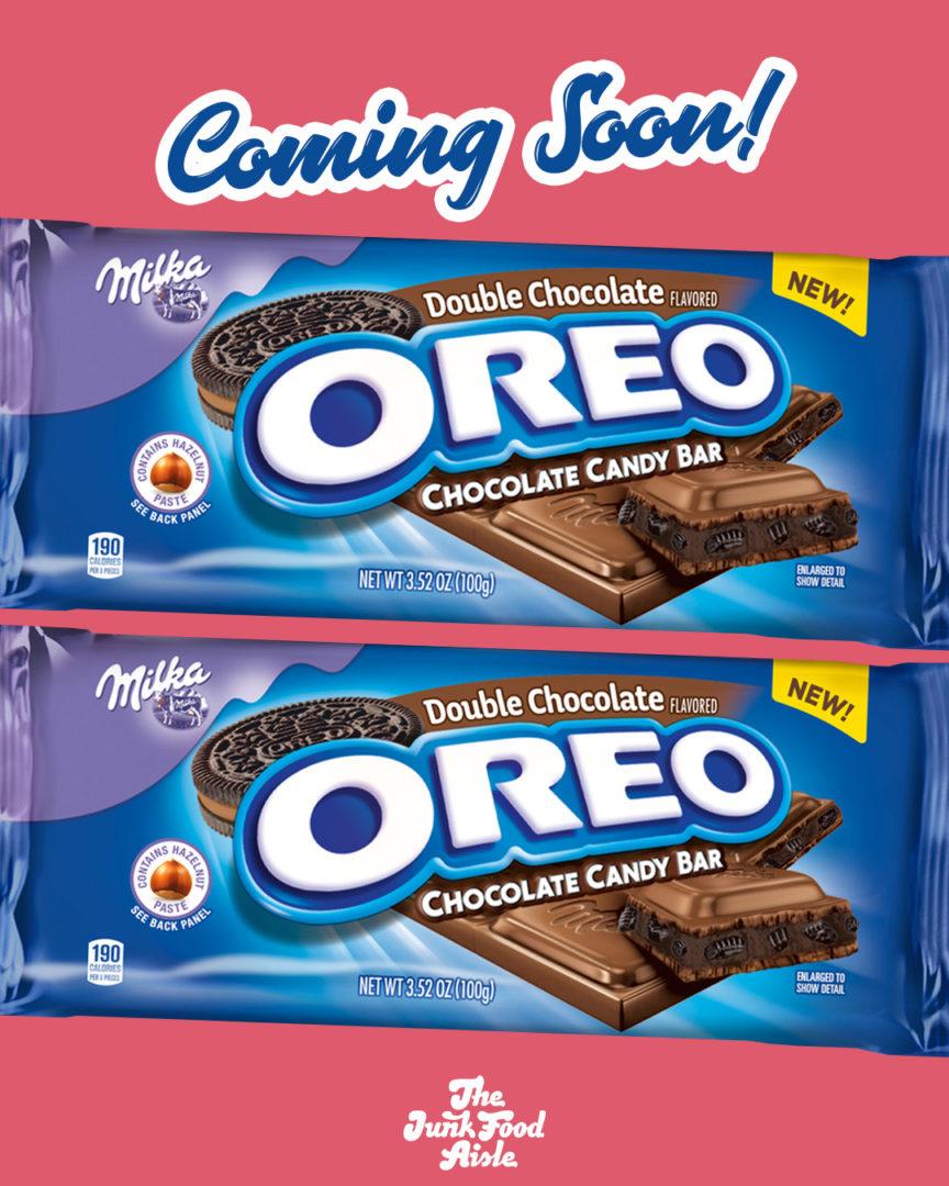 Coming Soon: Double Chocolate Oreo Milka Chocolate Candy Bar