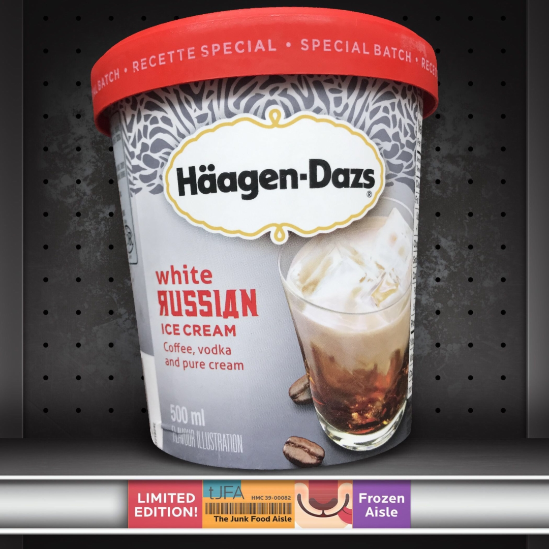 H 228 Agen Dazs White Russian Ice Cream The Junk Food Aisle