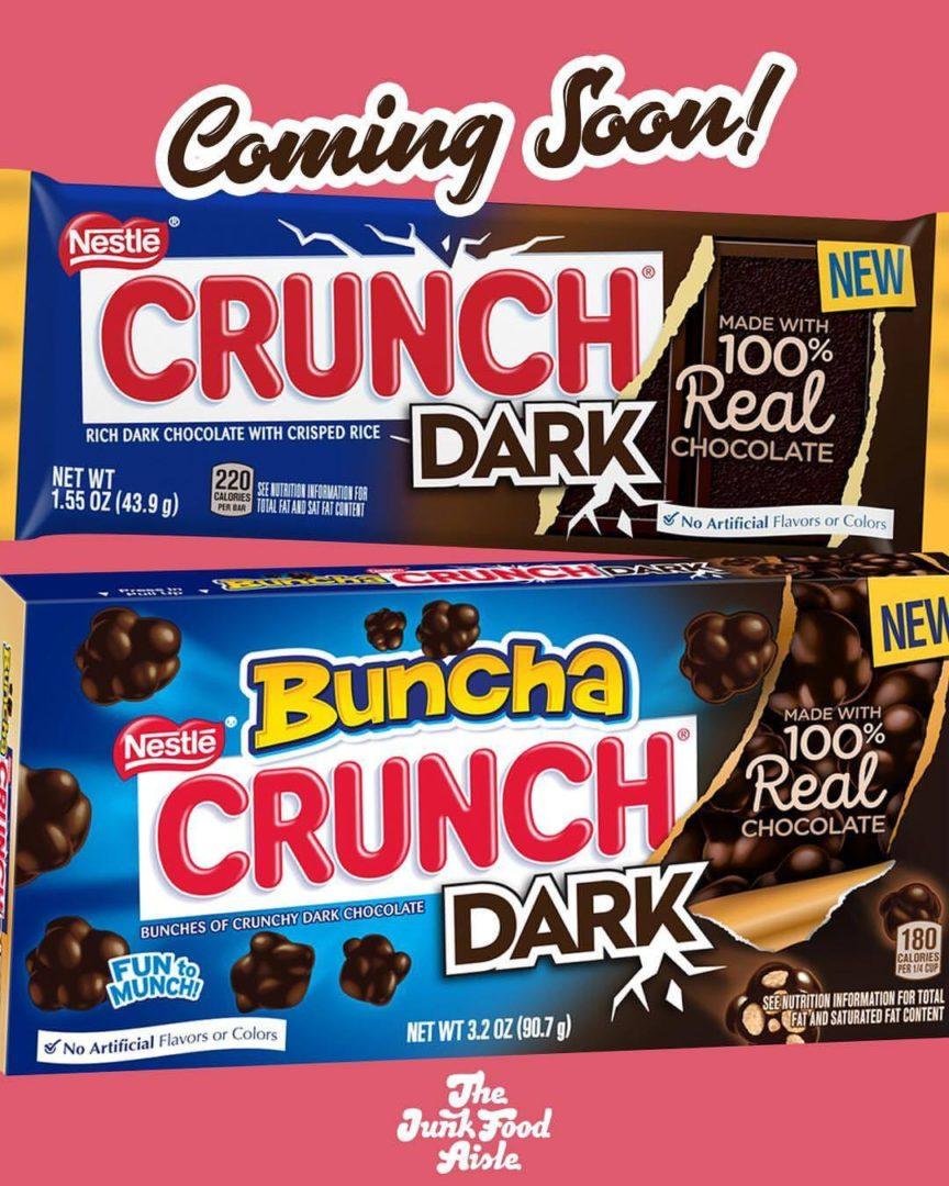 Coming Soon: Nestlé Crunch Dark and Buncha Crunch Dark