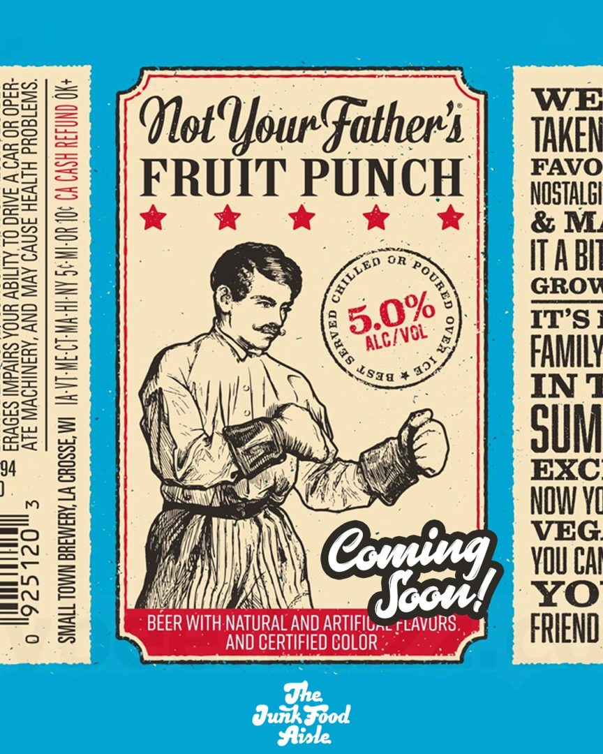 Coming Soon: Not Your Father's Fruit Punch