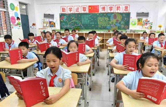 China: Schools open after victory against COVID-19