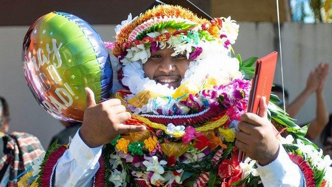Commencement will be Friday, May 10 at Waikiki Shell
