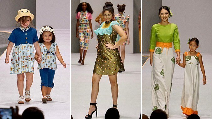 Student designers showcased their talent at Fashion Show