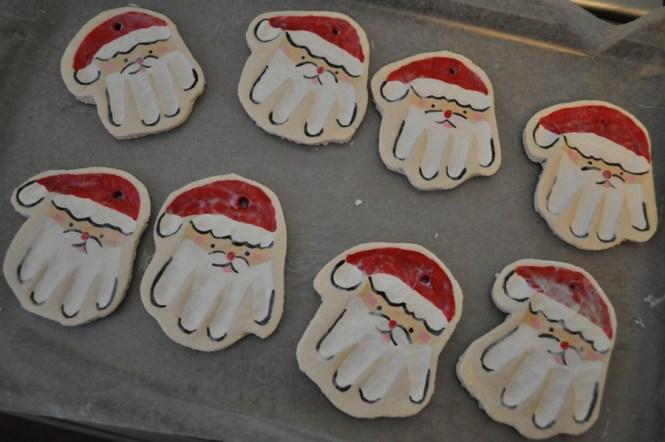 Diy Frozen Olaf Salt Dough Ornament