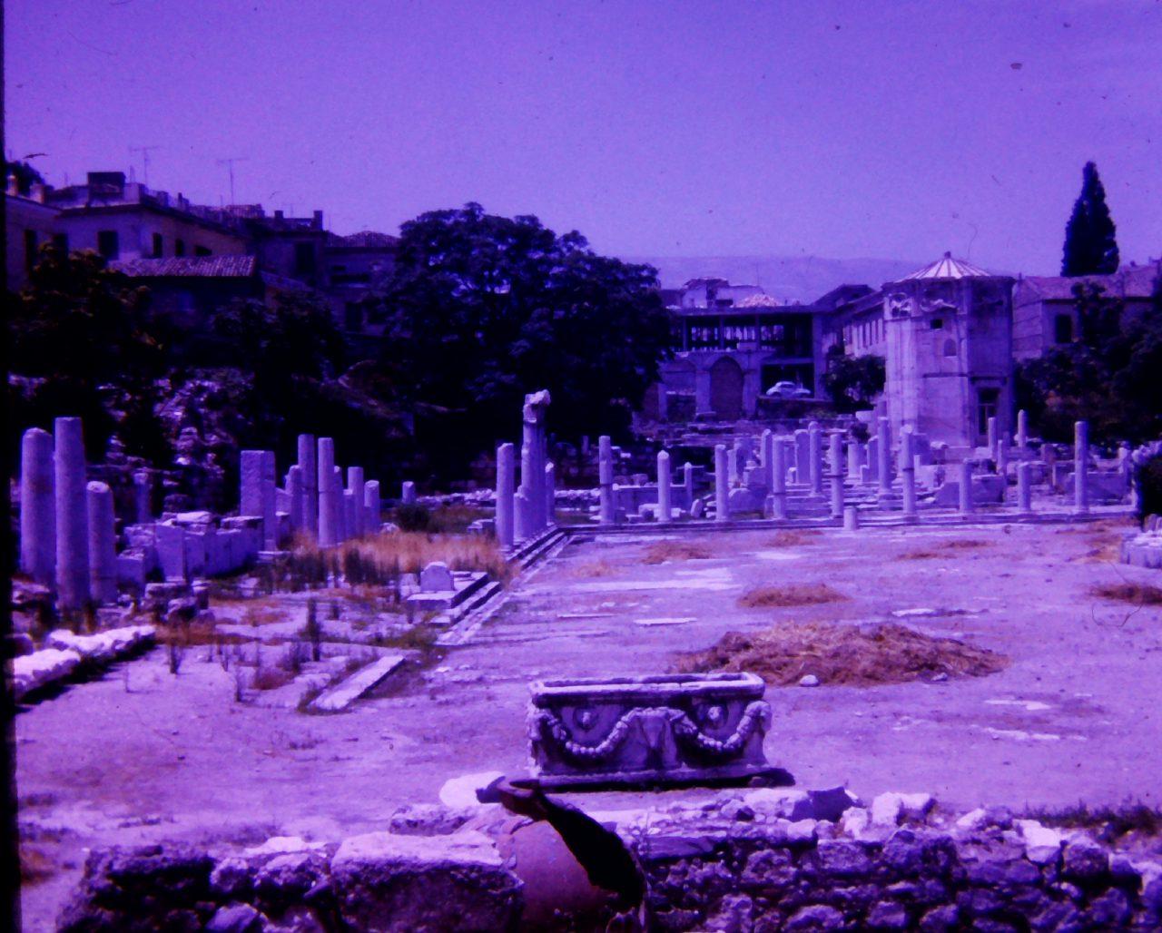 Ruinen Kreta, aus Familienbesitz, kasaan media, 2019