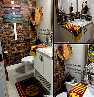 harry potter bathroom the keeper of