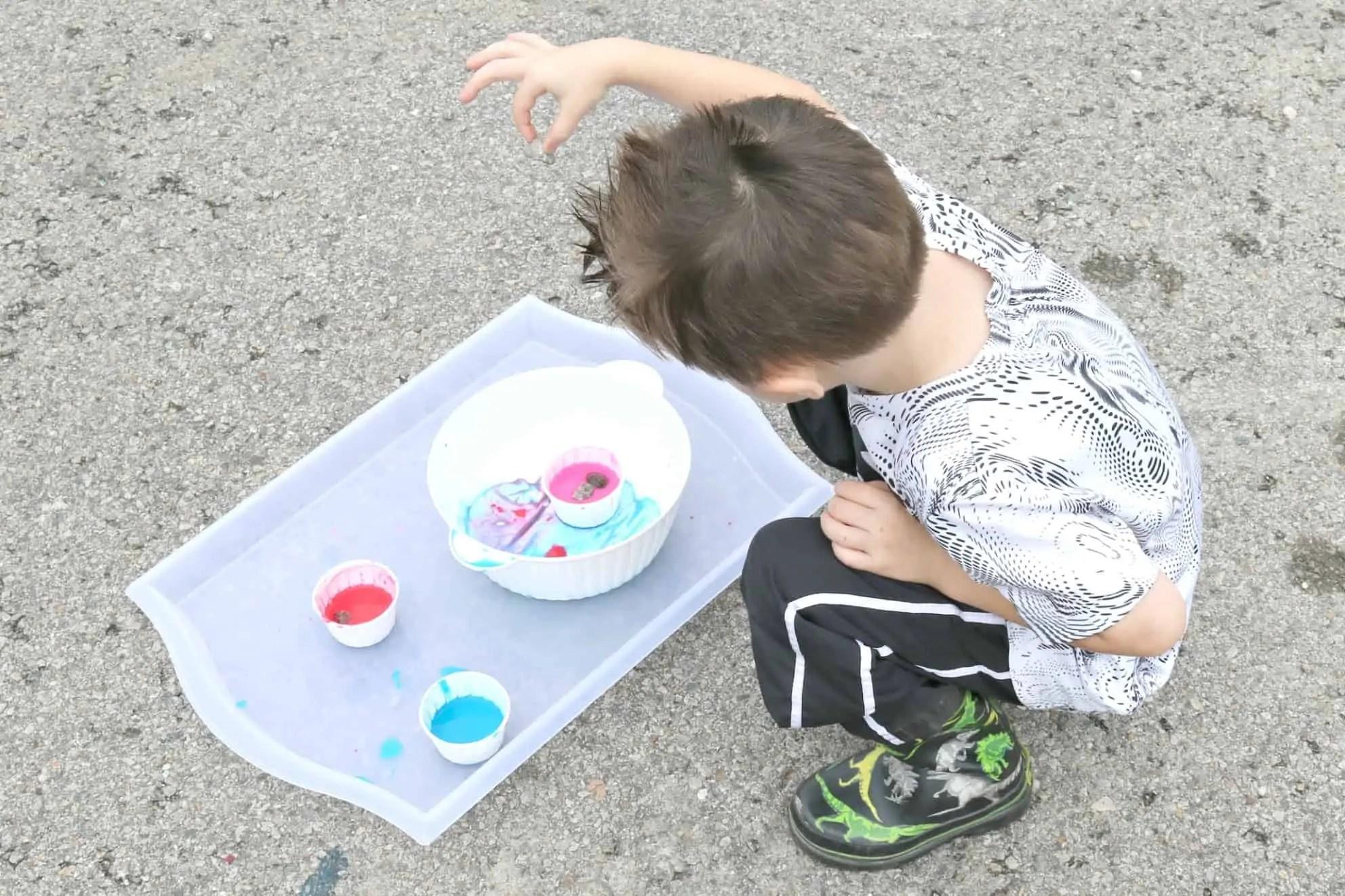 Splash Painting Invitation To Create Process Art Experience