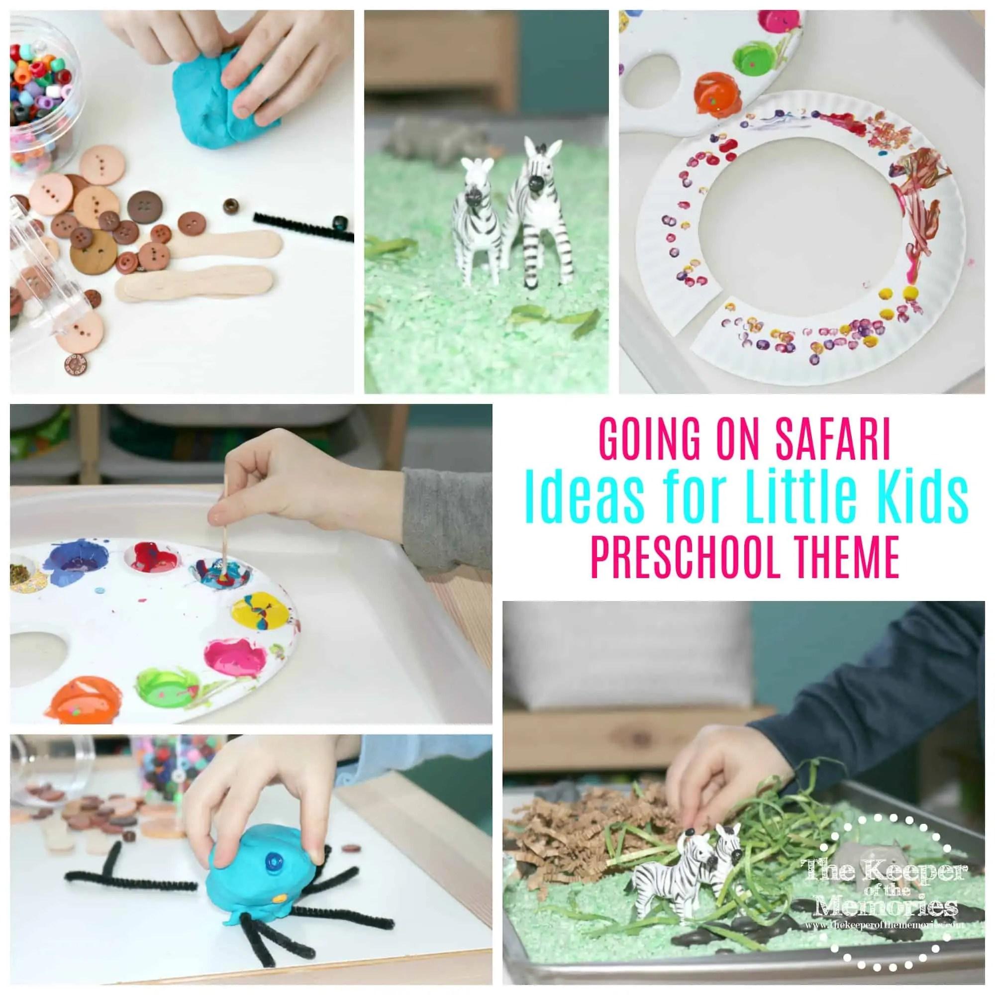 Preschool Safari Theme 200