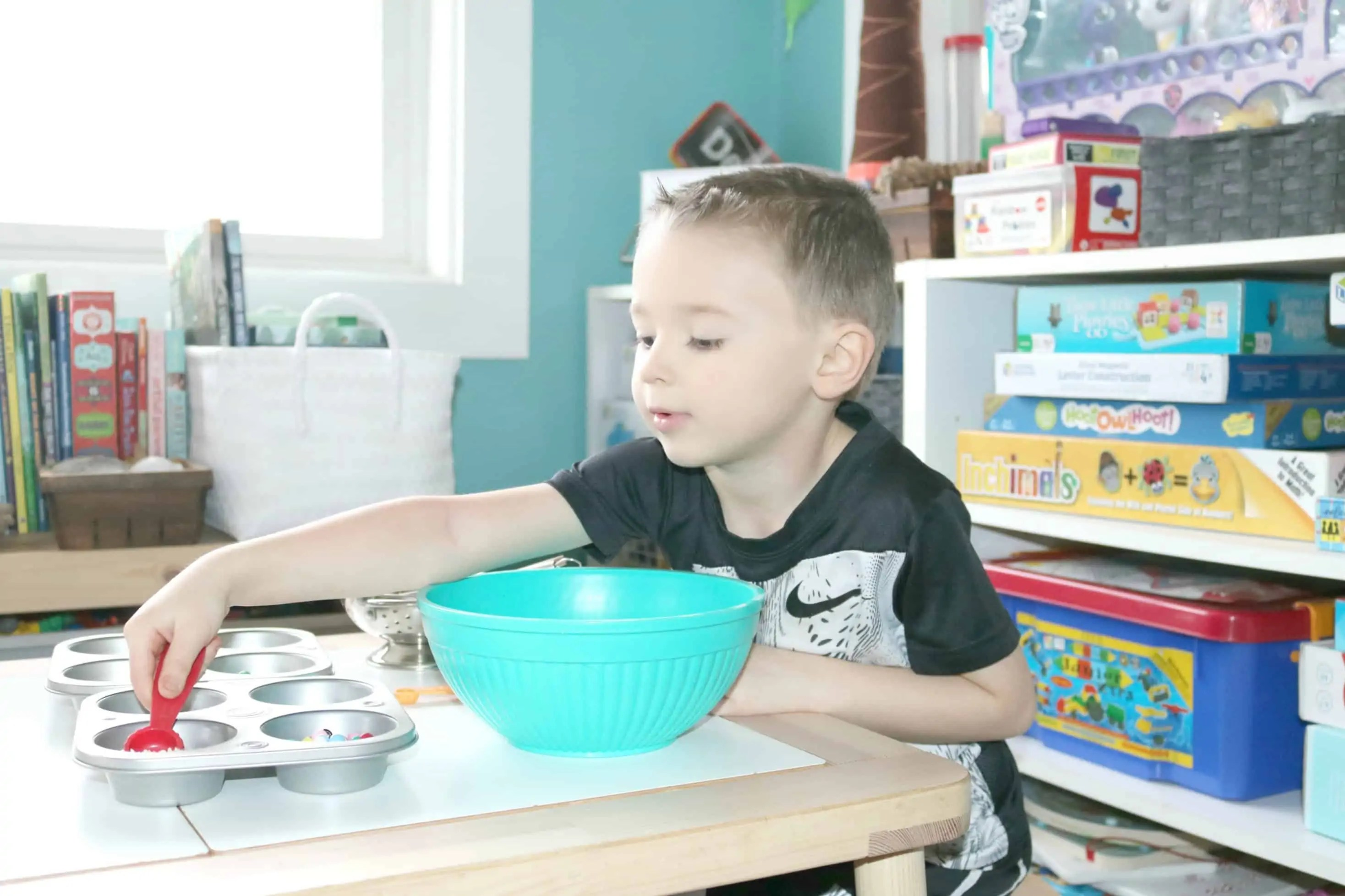 Preschool Food Groups Sensory Loose Parts In The Kitchen