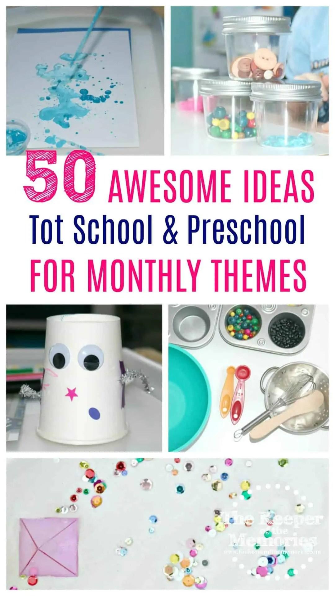 Preschool Monthly Themes 3