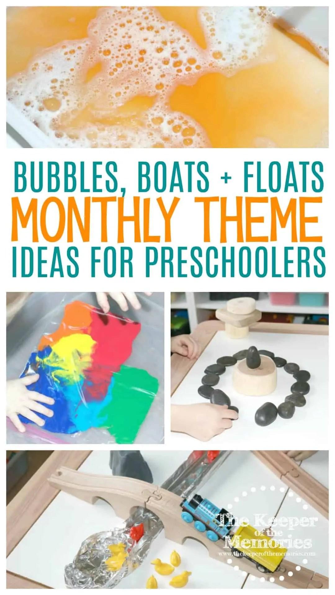 Water Preschool Monthly Theme Science Amp Steam Activities