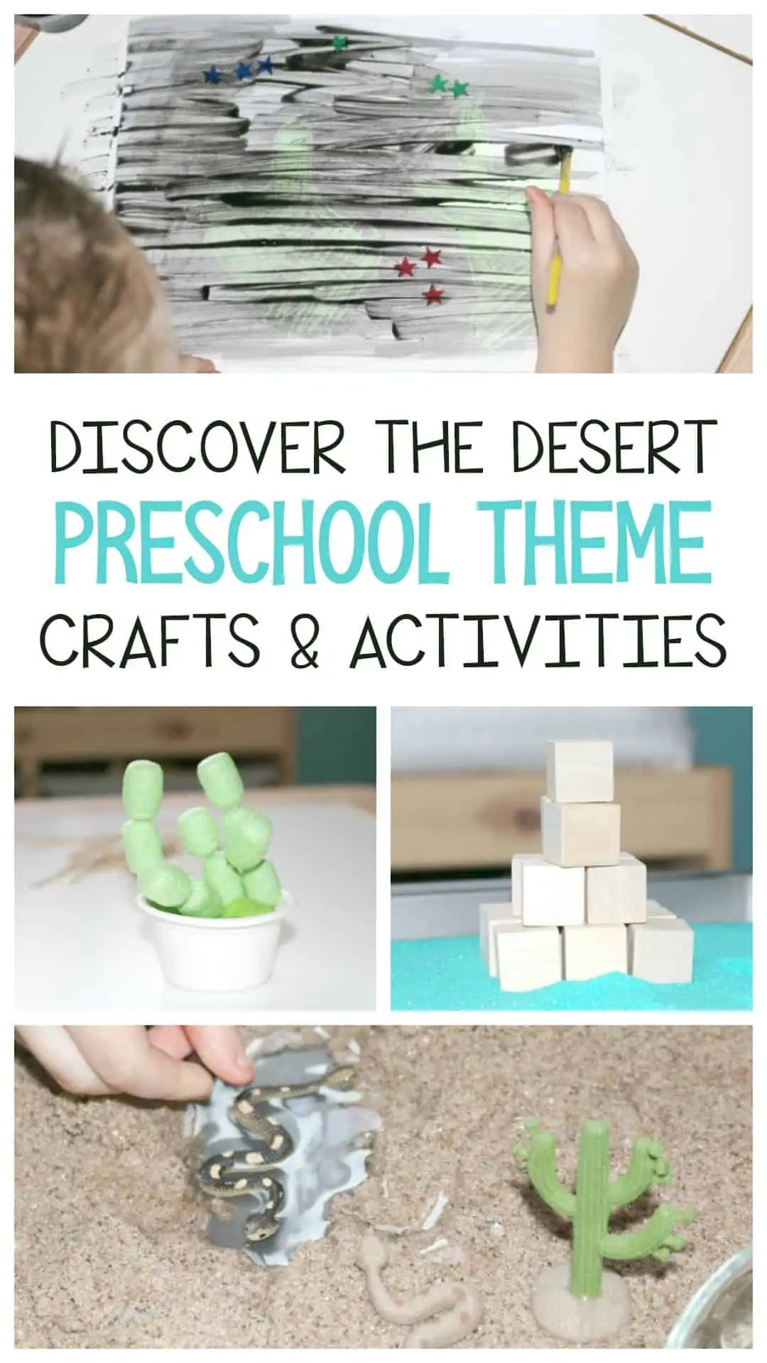 Discover The Desert Preschool Theme Crafts Amp Activities