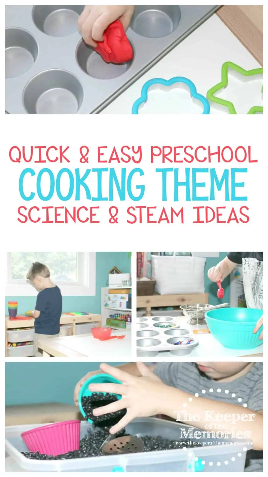Quick Amp Easy Preschool Cooking Theme Science Amp Steam Ideas