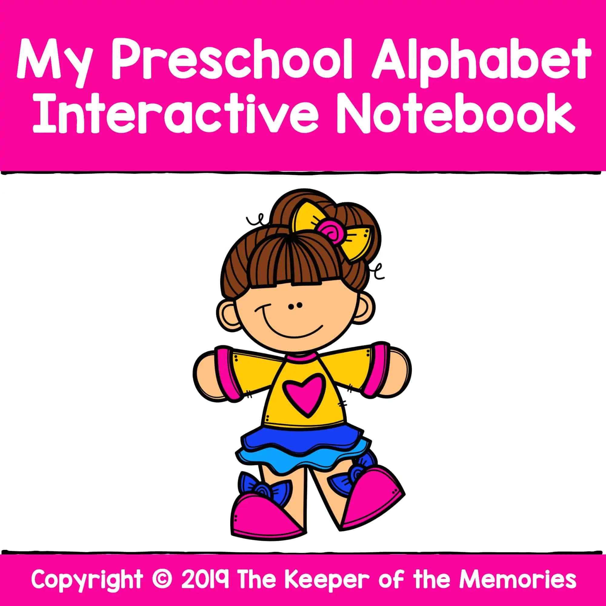 My Preschool Alphabet Interactive Notebook Alphabet