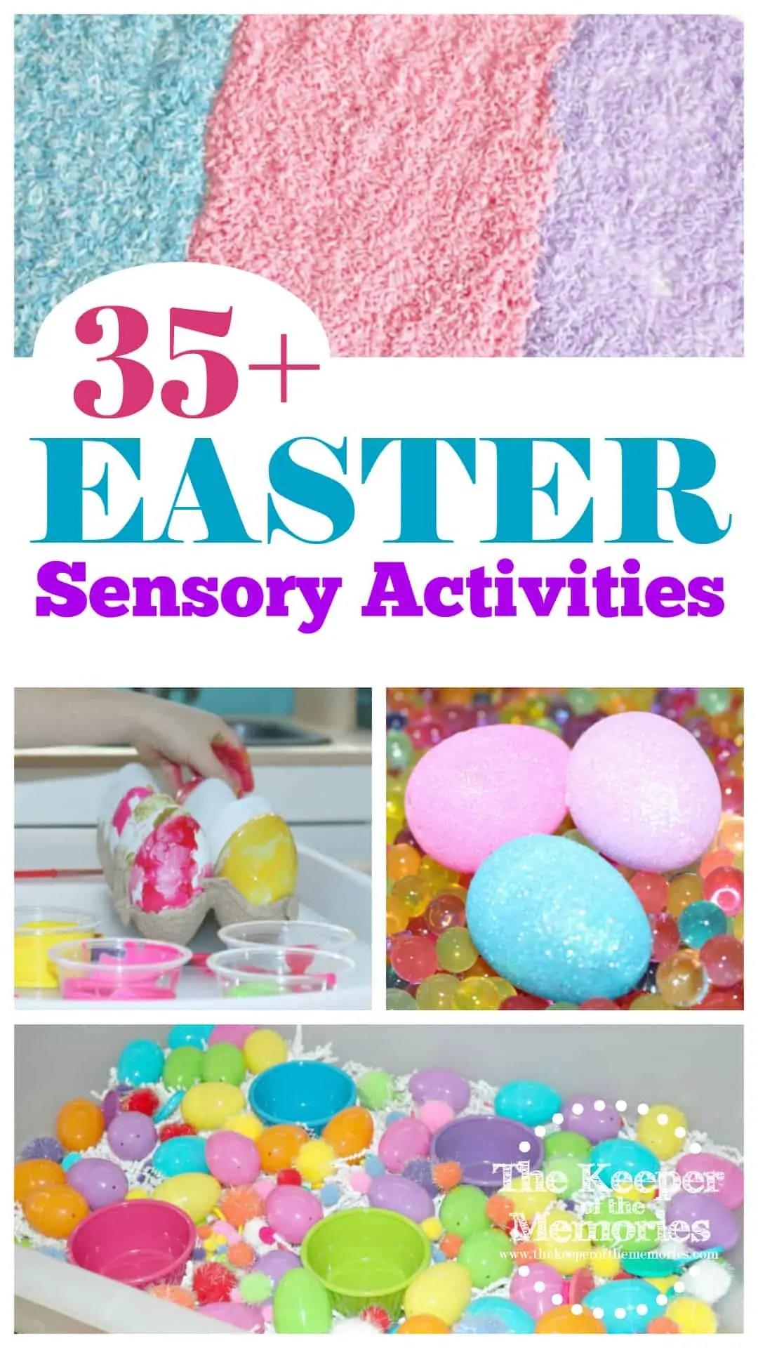 35 Easter Sensory Activities For Little Kids