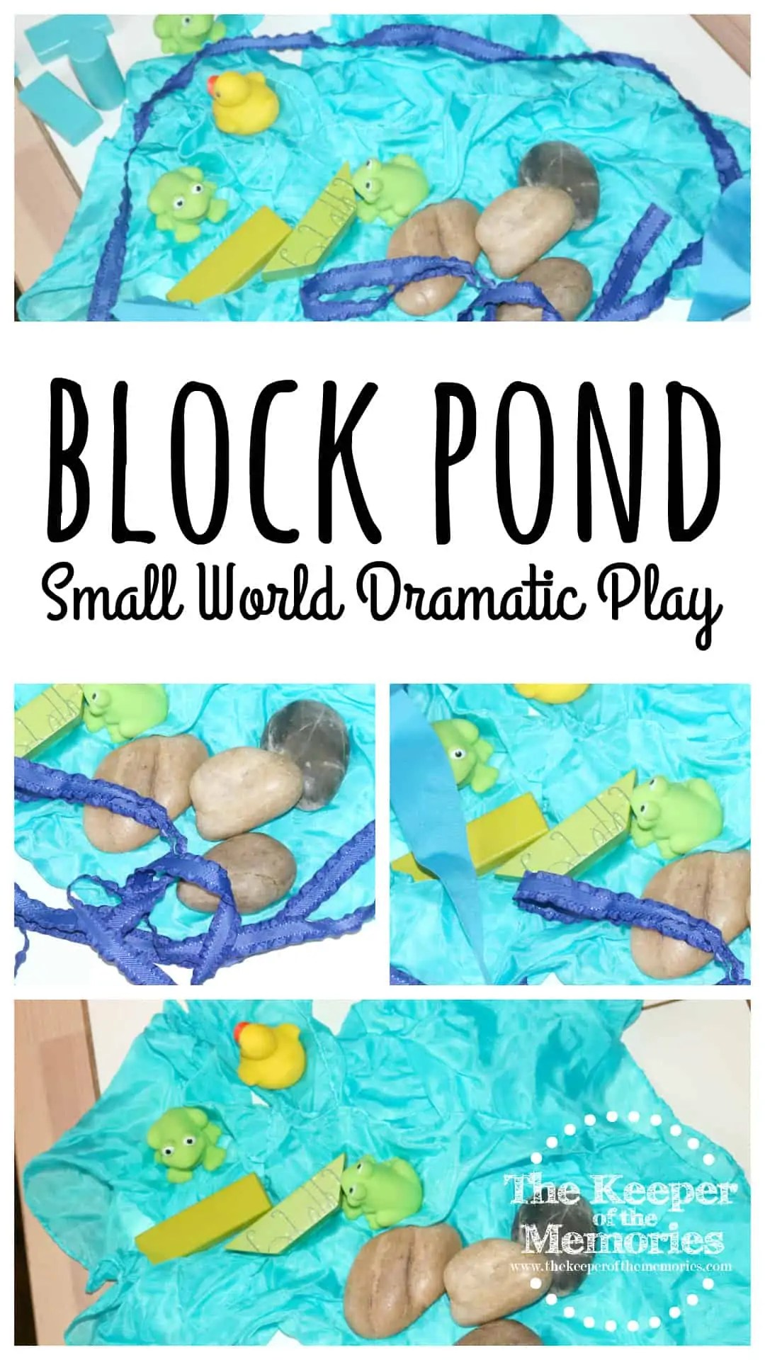 Block Pond Small World Dramatic Play