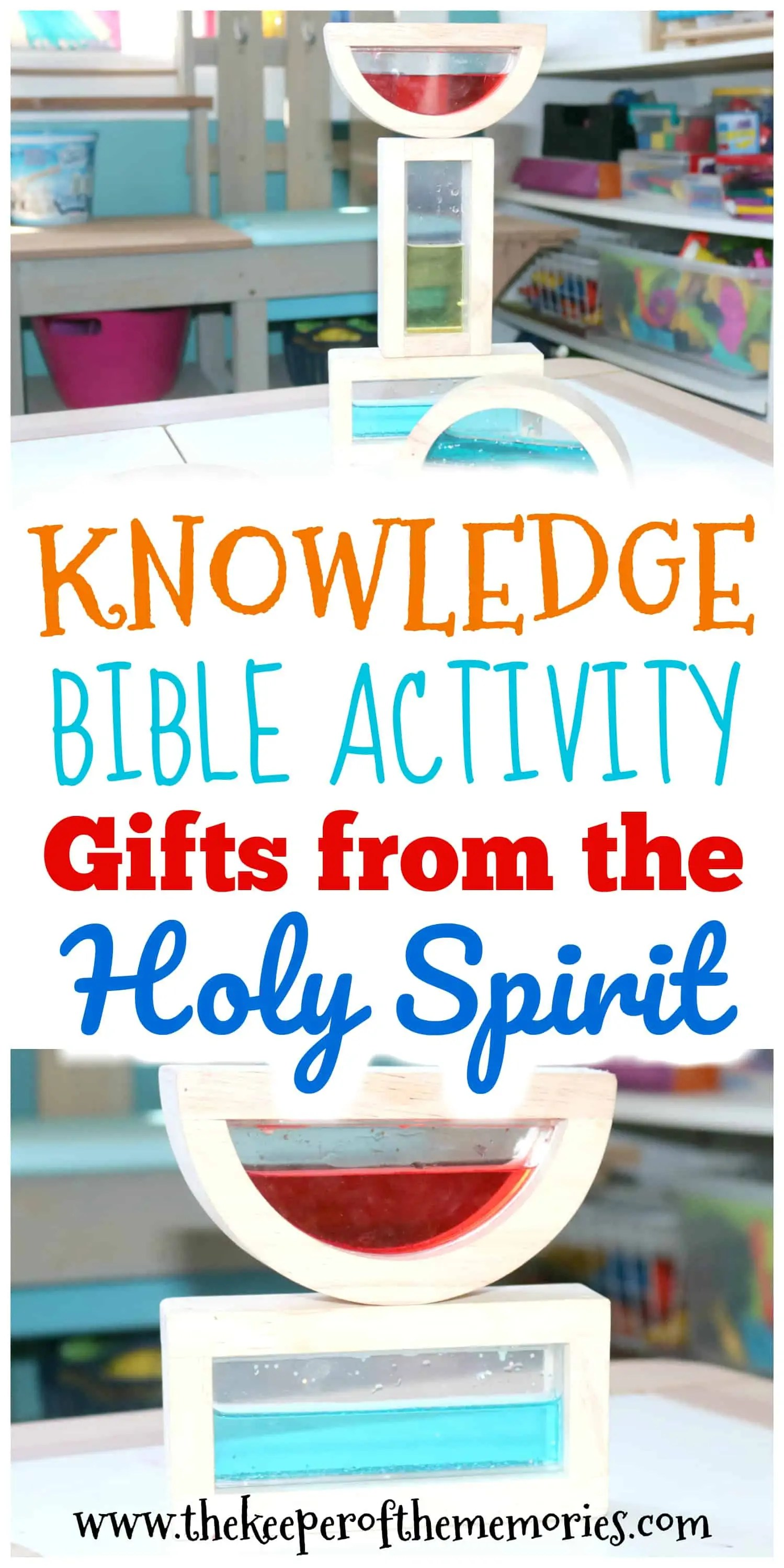 Ts From The Holy Spirit Knowledge Bible Activity