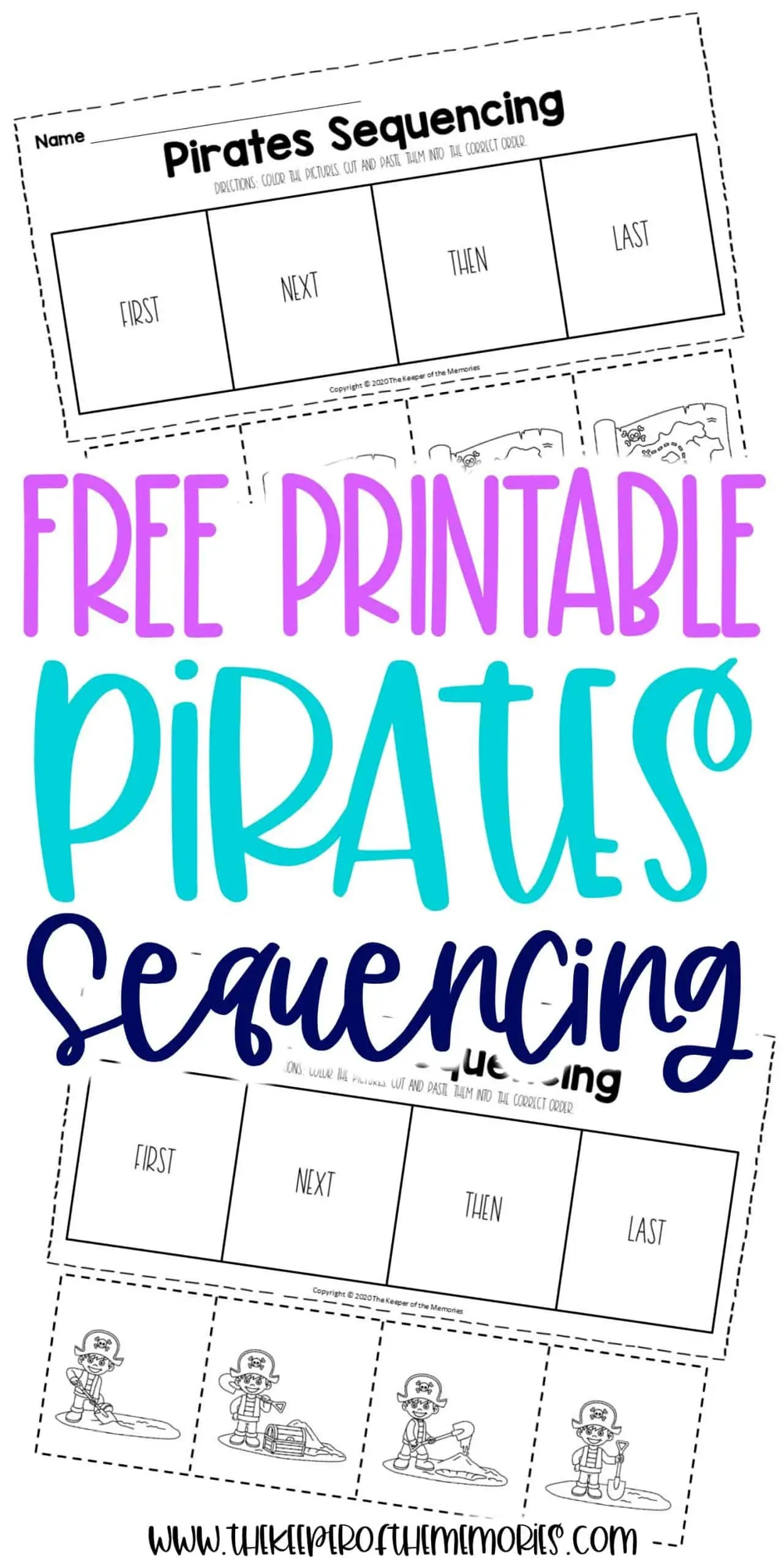 Free Printable Sequencing Worksheets For Preschoolers