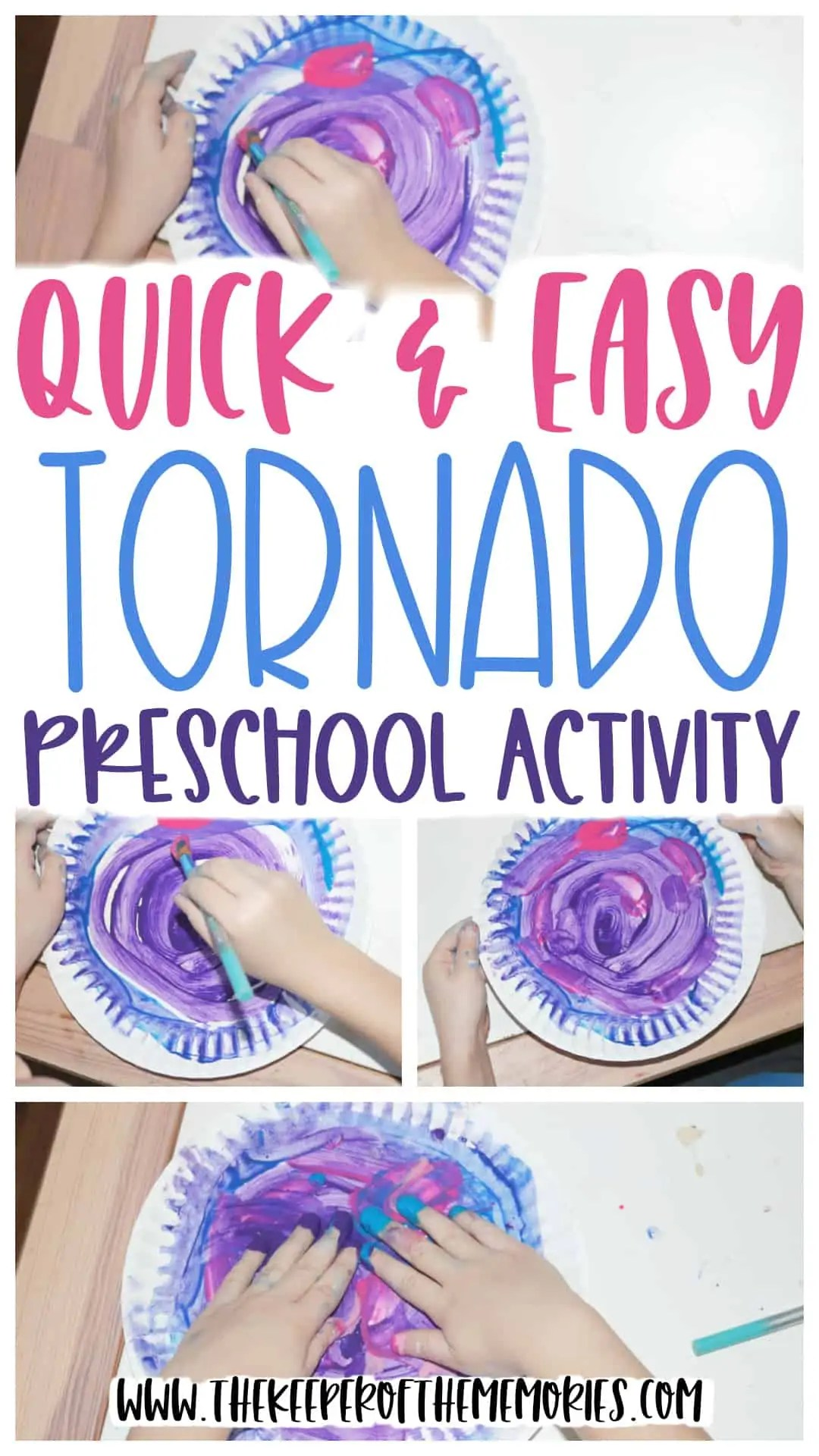 Quick Amp Easy Tornado Preschool Activity