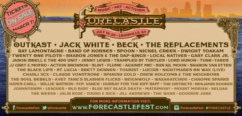 The Kentucky Gent covers Forecastle Festival for Louisville.com.