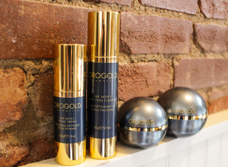 The Kentucky Gent, a Southern men's fashion and life style blogger, introduces Orogold Men's Skin Care Line.