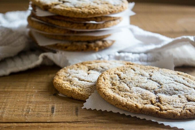 The Kentucky Gent, a Louisville, Kentucky based men's life and style blogger, shares his recipe for Giant Ginger Cookies.