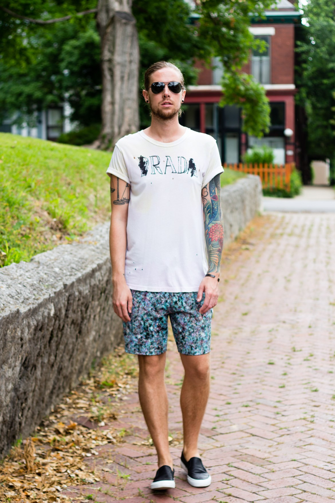 unif, topman, how to wear shorts with t-shirt, sperry, mens fashion