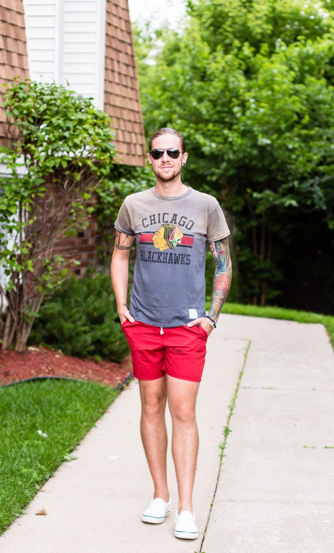 forever 21, forever 21 men, shorts, chicago, mens travel style
