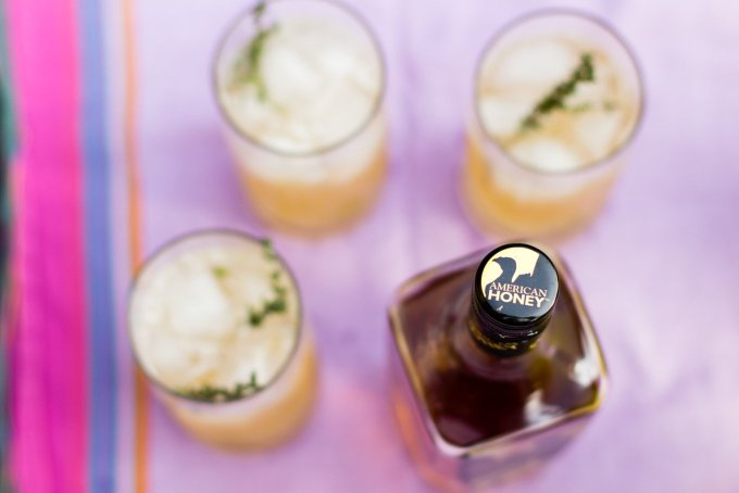 american honey, wild turkey, bourbon, summer cocktail recipes, summer get togethers, sponsored