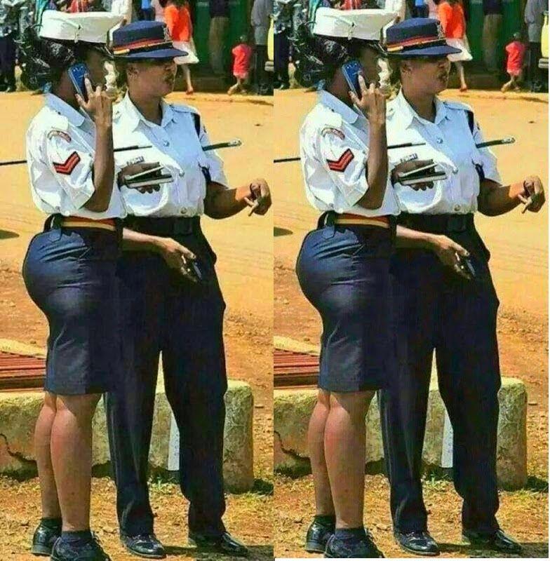 Police Officer Linda Okello