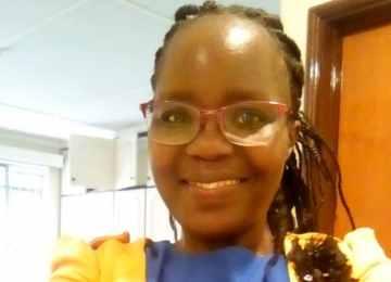 Irene Waliula (pictured) has been fighting HIV/AIDS for the last 10 years. Photograph: Irene Waliaula.