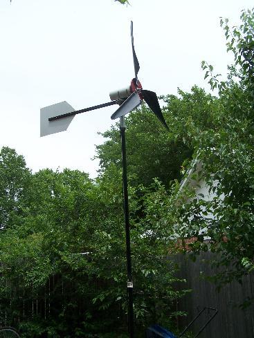 fully assembled wind generator