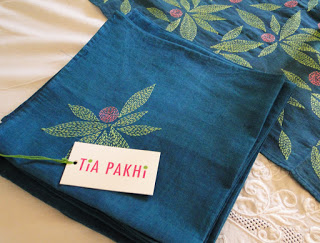 Tia Pakhi is the work of French designer Anais Basu