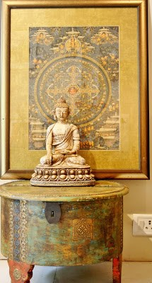 The Keybunch, buddha on a table by serenity