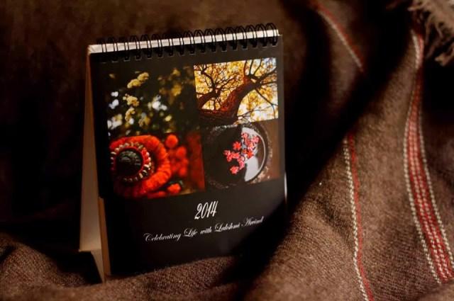 2014 Photo calendar by Aesthetics Photographer Lakshmi Arvind