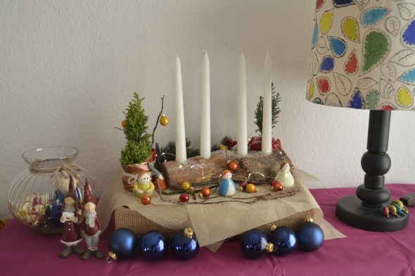 Christmas: DIY Wooden Candle Stand