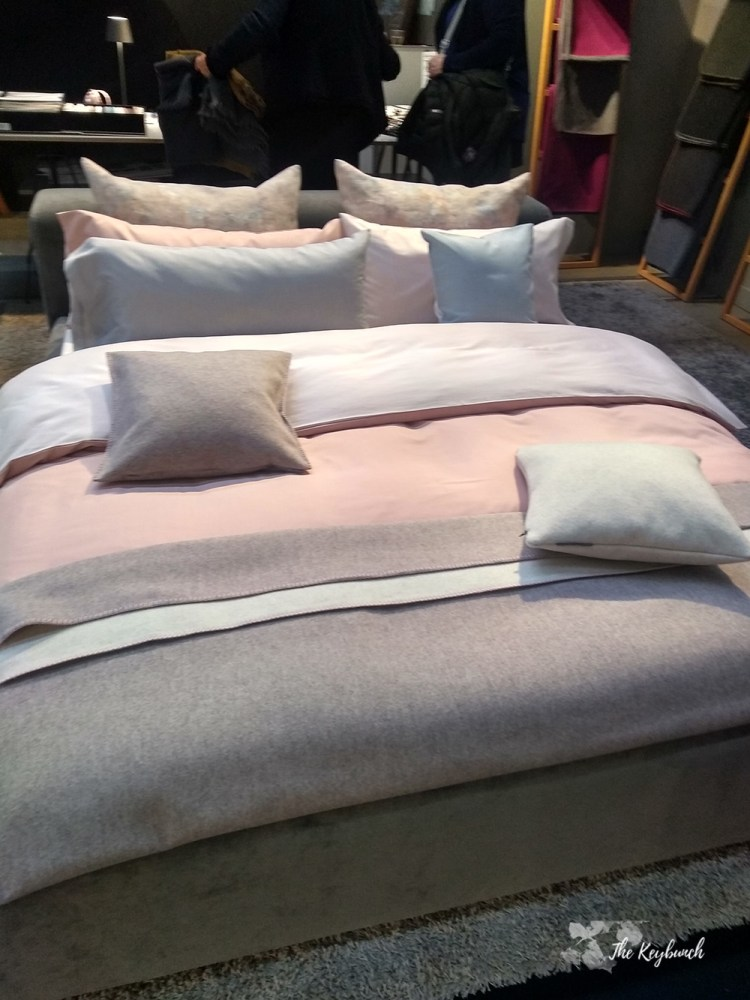 the beautiful bedroom sets display at Ambiente 19