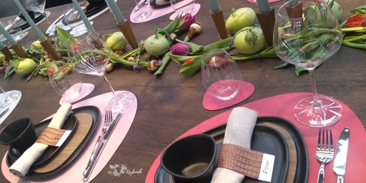 the beautiful dining sets spotted at Ambiente 19