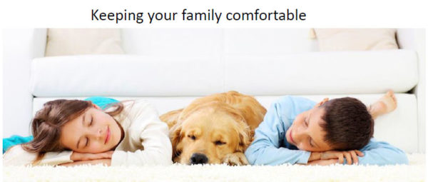 Slide Keeping your family comfortable