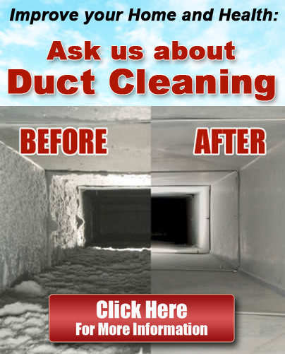 Ask Us About Duct Cleaning