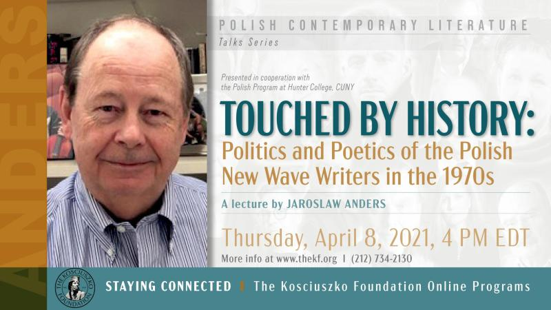 Touched by History: Politics and Poetics in the 1970s