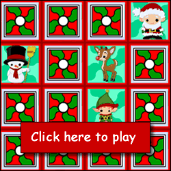 game information flip the cards to match holiday pictures to reveal a