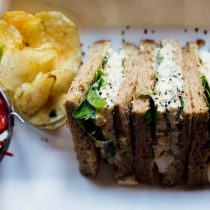Hearty Sandwiches at The Kiln Guernsey
