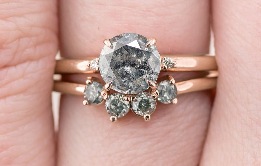Salt-&-Pepper-Diamond-Zoe-Setting-Engagement-Ring