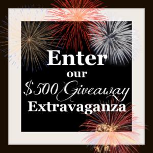 $500 July Giveaway Extravaganza!