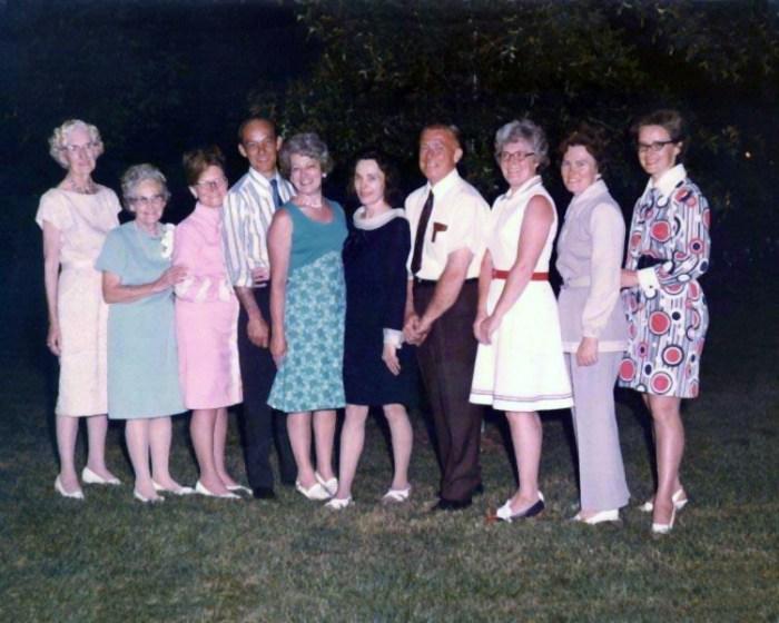 Bier Family 1972 Invite Reunion